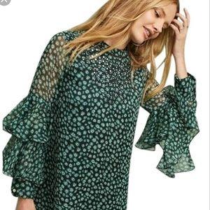 Anthropologie Ranna Gill flutter dress xs new 🌟🌟